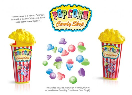 Pop Corn Candy Shop