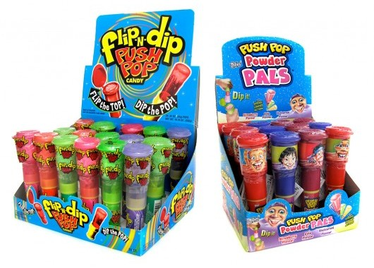 Flip 'n' Dip Push Pop